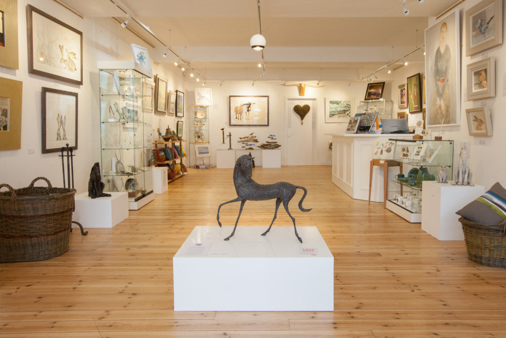 Whitehouse Gallery in Kirkcudbright, Dumfries Scotland