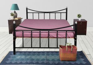 Unboxed Wrought Iron Double Bed