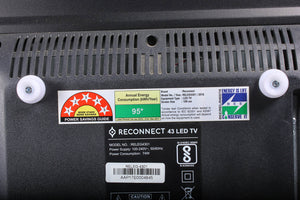 Unboxed Plus Reconnect HD Ready LED 40 Inch TV