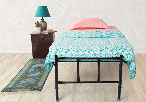 Wrought Iron Single Bed