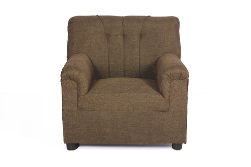 Unboxed Upholstered Single Seater Sofa
