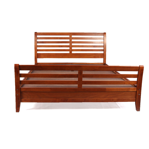 Unboxed Royal Solid Wood Double Bed