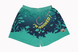 Boxer Shorts - 'Get Hooked'