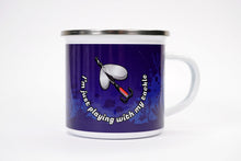 "Gift Pack - ""Playing With My Tackle"" Camping Mug, Keyring, Lucky Fishing Towel"