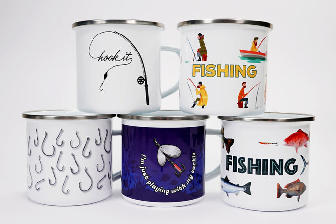 Camping Mugs - Set of 5
