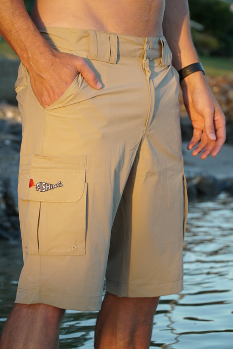 Fishing Shorts - Khaki