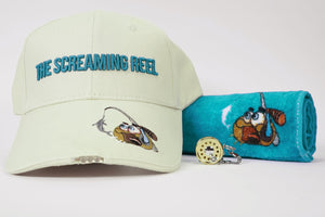 "Gift Pack - ""TSR"" Hat, Keyring, Lucky Fishing Towel"