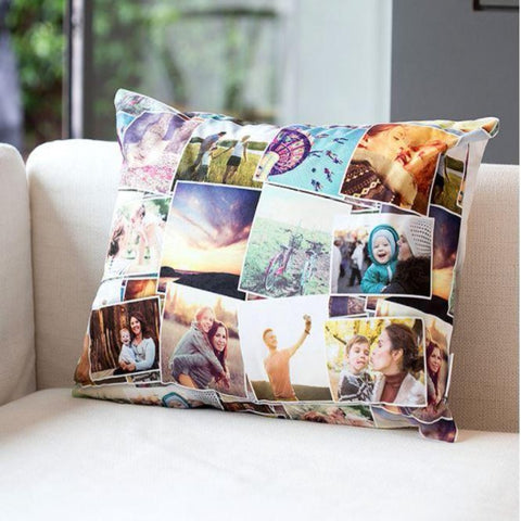 Customized Montage Photo Cushions