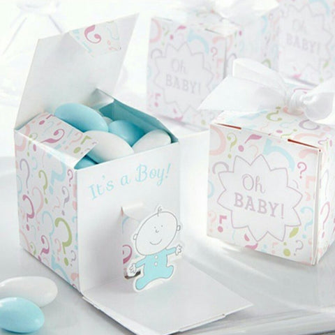 Gender Reveal Favor Boxes