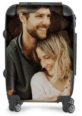 Personalized Photo Suitcase