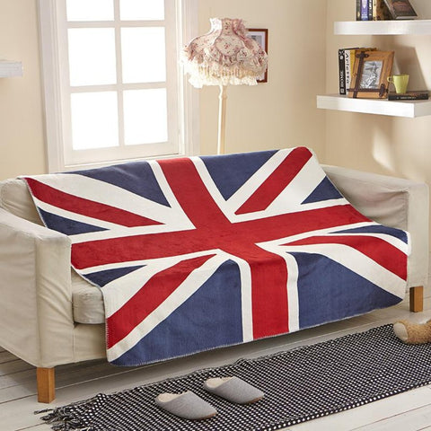 UK  Flag Customized Blanket