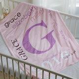 Customized Baby Blanket