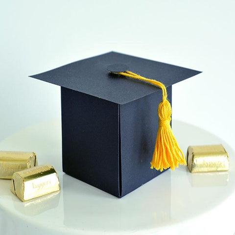 Graduation Hat Favor Boxes