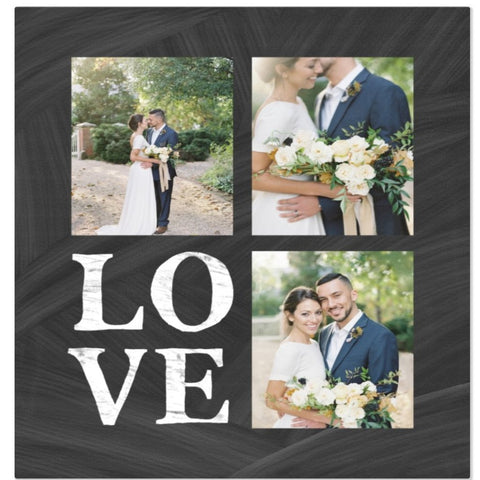 Love Customized Photo Blanket