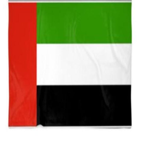 United Arab of Emirates Flag Customized Blanket