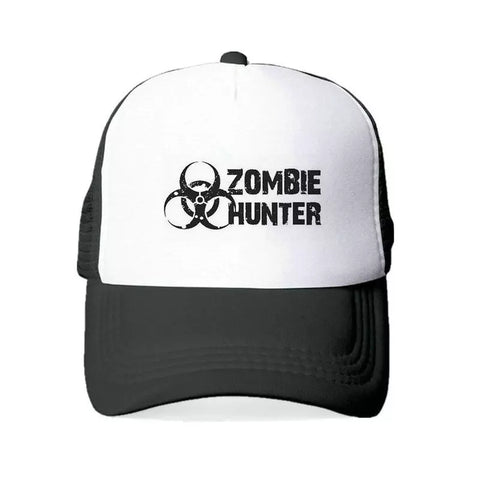 Zombie Radiation Hunter Trucker Baseball Cap