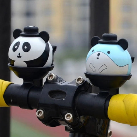 Panda bicycle warning loud bell