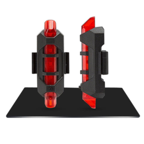 Rechargeable USB MTB Escooter Red Led