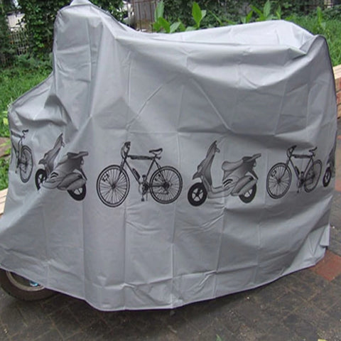 Weatherproof Bicycle MTB Grey Protective Cover