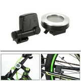 Round Bicycle Wireless Speedometer + Led Back light