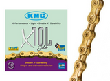 Kmc X10 Series Gold Chain