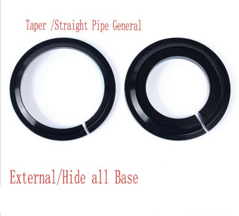 2 in 1 Crown Race Base Headset Washer for 28.6mm Straight Fork spacer
