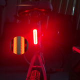 Rechargeable Rear Lights Weatherproof Super Bright COB Lamp 8 Models Led