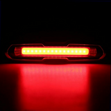 Rechargeable Blue/Red/White Powerful Bicycle Escooter Police LED Tail Light
