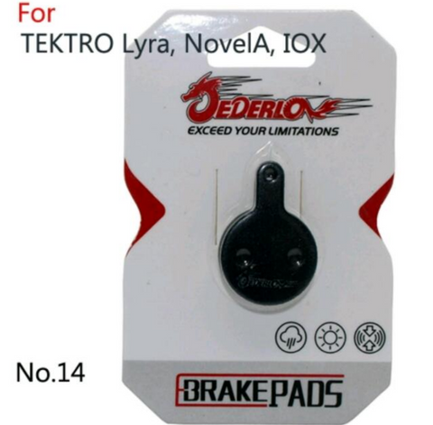 Various Model of Tektro Brake Pads Kevlar /Copper Resin