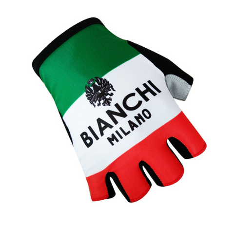 Bianchi Italy 🇮🇹 Half Finger Protective Gloves