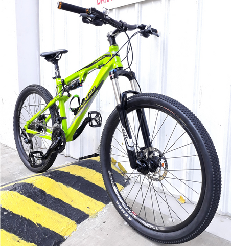 Polygon Plateau Full Suspension Mountain Bike