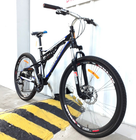Raleigh Ram Full Suspension Mountain Bike