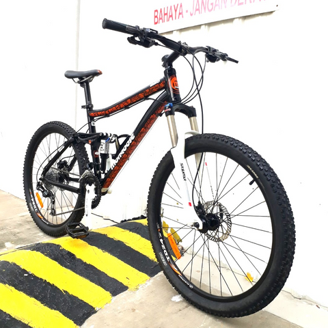 Mongoose Salvo Comp Full Suspension Mountain Bike
