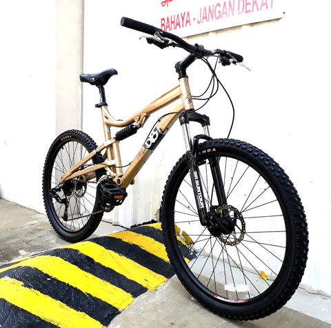 DiamondBack Recoil Full Suspension Mountain Bike
