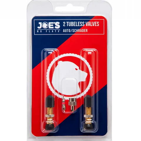 Joe's No Flats Tubeless Schrader Valve Kit