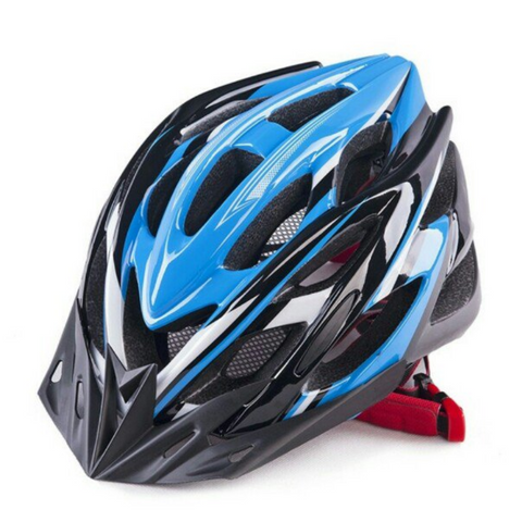 Lightweight MTB Cycling Protective Blue Helmet