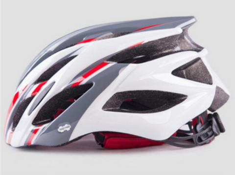 Red / White / Grey Lightweight MTB Cycling Protective Helmet