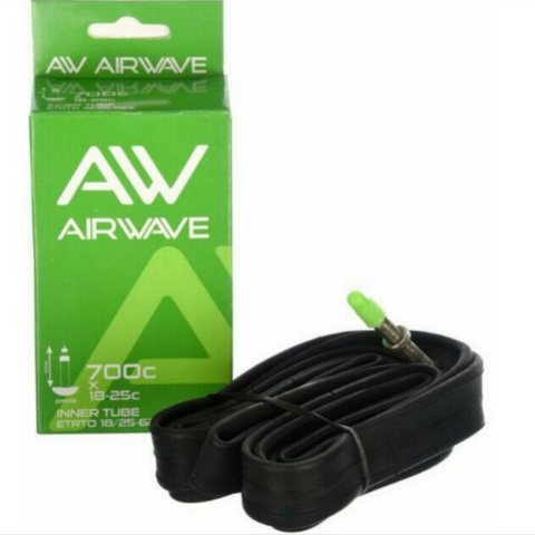 Airwave 700c X 18-25c Presta Road Bike Inner Tube