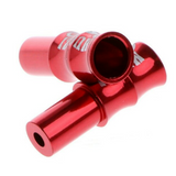 4mm / 5mm Red Anodized MTB Aluminum Cable Housing Caps