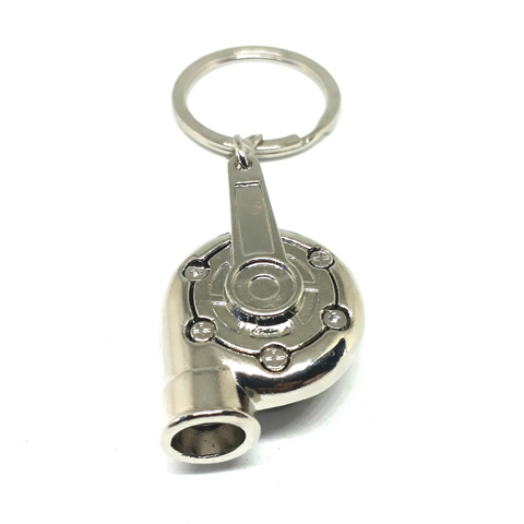 HKS Garrett Turbocharger Stainless Steel Key Chain Ring