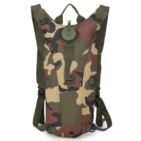 Hydration Backpack + 3 Litre Waterbag