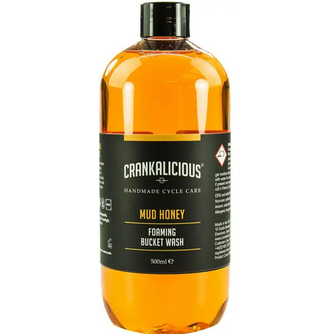 Crankalicious Trail Mud Honey Wash Bike Cleaner 500ml