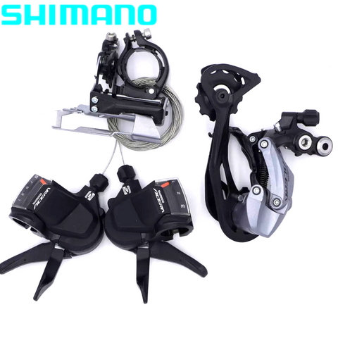 Shimano Acera M3000 3 speed + 9 speed Right shifters + Front/Rear Derailleur 9s/27s Groupset