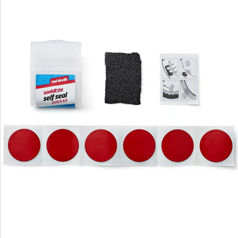 Weldtite Red Devils Tyre Patch Repair Kit