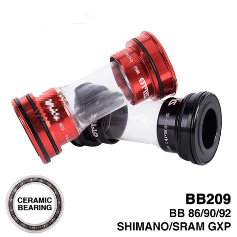 Ceramic Bearings BB92 BB90 BB86 MTB Road Press Fit Bottom Brackets GXP 22MM Shimano 24mm