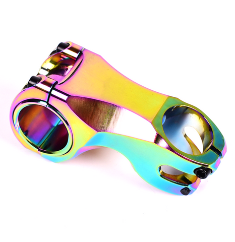 Oil Slick Anodized 70mm MTB Stem 31.8mm/35mm Clamp