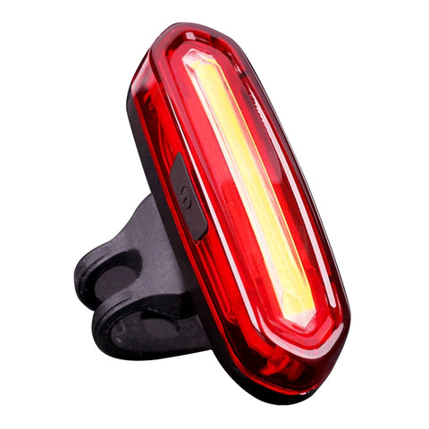 USB Rechargeable Cycling MTB Police LED Tail Light