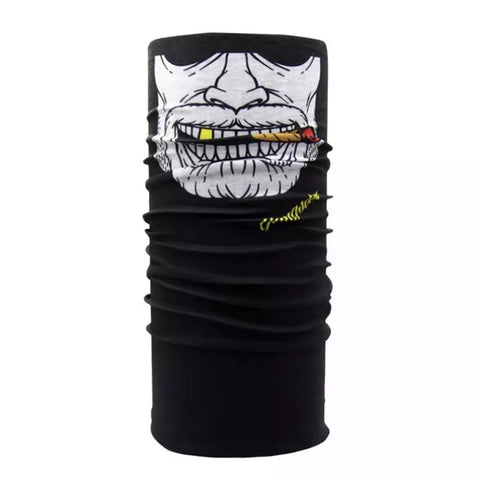 Joker Mask Scarf Half Face on Neck 2 style Bandana