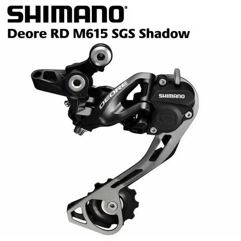 Shimano 10 Speed Deore M615 Shadow+ Rear Derailleur Mech