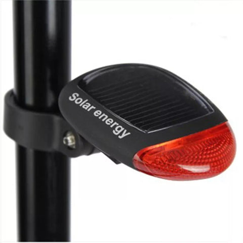 Solar Powered LED Seat Post Flashing Tail Light